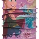 Junior Original Buff® - Frozen Sisters Pink