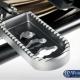 Fotpinnar, lägre - förare R1200 GS/GSA - Lower footrests ERGO Comfort - silver