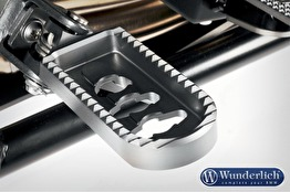 Fotpinnar, lägre - förare - Lower footrests ERGO Comfort - silver
