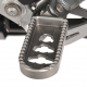 Fotpinnar, lägre - förare R1200 GS/GSA - Lower footrests ERGO Comfort - titanium