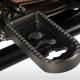 Fotpinnar, lägre - förare - Lower footrests - titanium