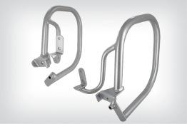 Skyddsbåge för sidoväskor - Silver