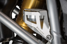 Skydd för bromsvätskebehållare - bak - Silver