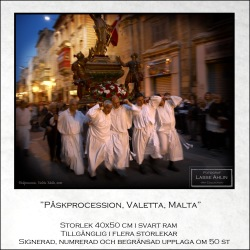 Påskprocession, Valetta, Malta