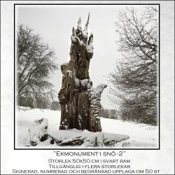 Ekmonument i snö-2
