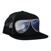 ORIGINAL FLAT SUBLIMATED BLACK/BIG WAVE