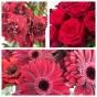 Krans Floristens val -röd