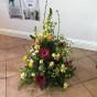 Stående dekoration Floristens val -röd