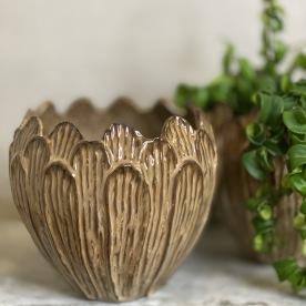 Läcker brun vas