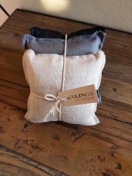 Axlings 3-pack doftkuddar lavendel - Axlings doftkuddar naturfärger