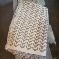 Egyptisk handvävd bomullsduk