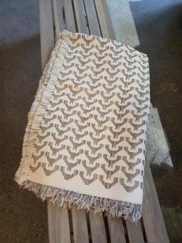 Egyptisk handvävd bomullsduk - Egyptisk handvävd bomullsduk