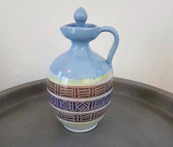 Egyptisk handgjord olivoljekanna - Egyptisk handgjord olivoljekanna