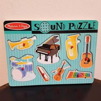 Ljudpussel instrument - Ljudpussel instrument