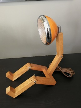 Retrolampa - Lampa Mr wattson orange