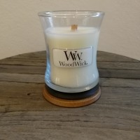Woodwick mini linen