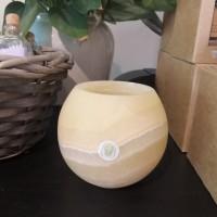 Ljuslykta i alabaster