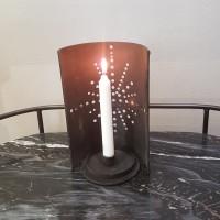 Ljusstake med stjärnmotiv