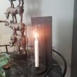 Ljusstake med glascylinder