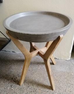 Sidobord med betongskiva - Artwood bord tonga