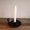 Handgjord ljusstake - Ljusstake med dekorationsring