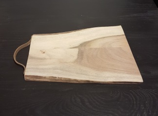 Liten skärbräda i acaciaträd - Liten skärbräda i acaciaträ