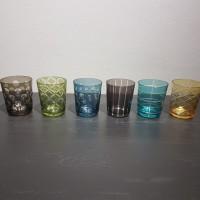Dricksglas Pols Potten 6-pack mixade färger