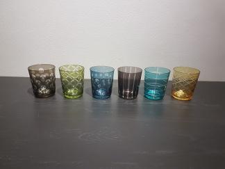 Dricksglas Pols Potten 6-pack mixade färger - Dricksglas 6-pack mixade färger