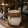 Handgjord bambukorg - Korg mellan