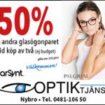 Annons - optiker