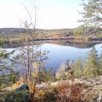 Utsikt från trollhemsberget