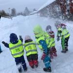 Lek i snön
