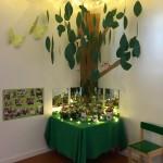 Utställning på sommarfesten med våra plantor -18