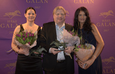 Marcedes Balogh,Veijo Heiskanen och Sofia Adolfsson Foto: Lars Jakobsson - Kanal 75