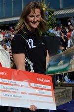 Årets B-tränare erhåller ett stipendium på 20 000 kronor från vår samarbetspartner Trygg-Hansa