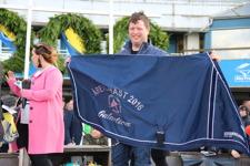 Hästtäcket till Årets Häst 2016 - Sponsrat av Granngården AB