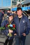 Vi från BTR gick runt bland publiken och minglade. Gick så bra att en av våra Ledamöter fick blommor! =) (Heidi Svensson & Ola Johansson)