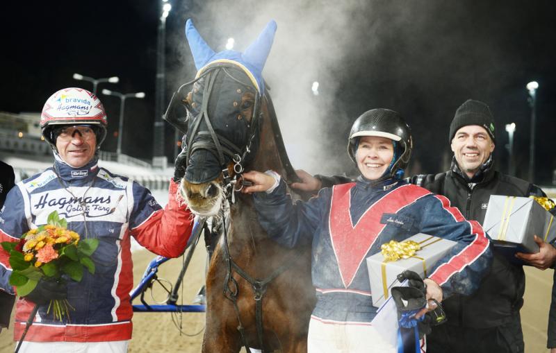 V75-2 Racer Rose - Åsa Ronén, Bollnäs