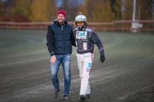 Major Vici - Tränare & Kusk.  Foto: Ola Weterberg