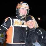 Oskar Kylin-Blom och Elisabeth Lundholm. Foto: TR Media