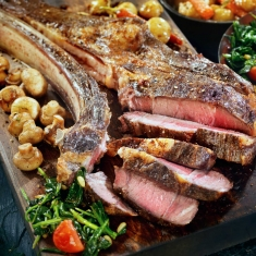Tomahawk steak från Malungskock