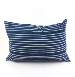 MOSSI INDIGO CUSHION STRIPES - MOSSIINDIGO CUSHION STRIPES