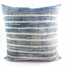 MOSSI INDIGO CUSHION STRIPES - MOSSI INDIGO STRIPES