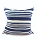 MOSSI INDIGO CUSHION STRIPES - MOSSI INDIGO CUSHION STRIPES