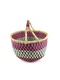 BOLGA BASKET LARGE - Green/Natural
