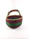 BOLGA BASKET LARGE - Red/Purple