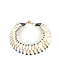 COWRIE NECKLACE - DOUBLE STRAND