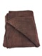 ORGANIC HANDWOVEN BEDCOVER - BROWN