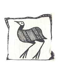 KORHOGO GUINEA FOWL CUSHION