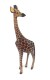 GIRAFFE WOODEN ANIMAL - GIRAFFE WOODEN ANIMAL 30CM